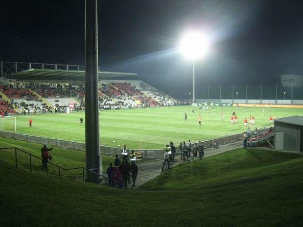 Marijampolės sporto centro stadione, Marijampolė