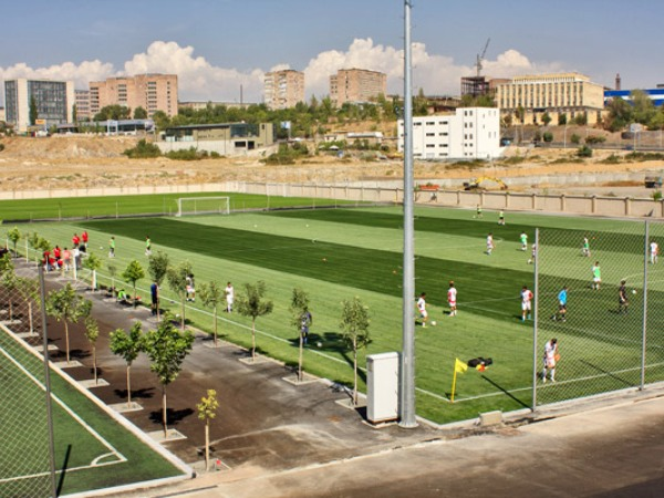 Armenia Football Academy grass, Yerevan