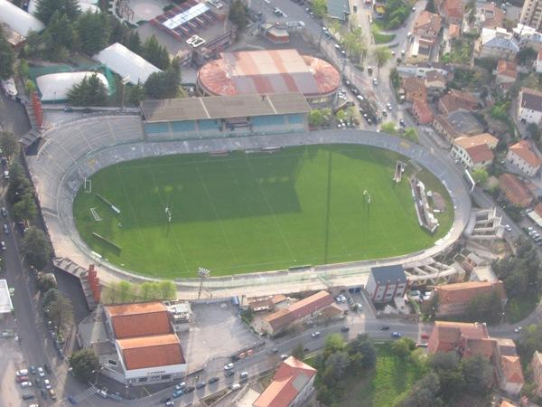 Stadio Comunale Tommaso Fatttori, L'Aquila