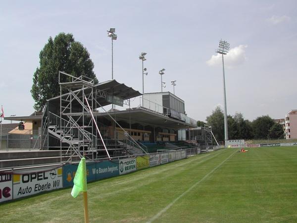 Stadion Bergholz (old), Wil